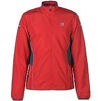 Karrimor Mens Running Jacket Performance Coat Top Zip Full Quick Drying