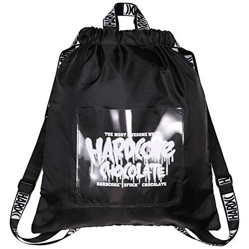 (ハードコアチョコレート) HARDCORE CHOCOLATE 処刑軍団ナップザック (狂犬ブラック)(BAG)(BAG1250-BK) バッグ 鞄 ナップザック 国内正規品 F ブラック
