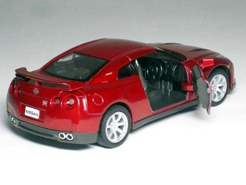 日産GT-R  1/36サイズ【プルバック式ダイキャストミニカー・世界の名車シリーズ】【RCPsuper1206】【0603superP5】 (レッド)