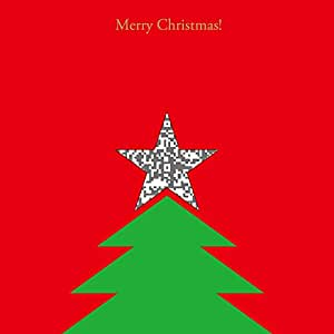 moovin メッセージカード ムービーを贈れる インスタントムービーカード CUTOUT Merry Xmas