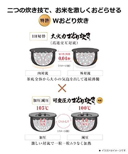 Panasonic(パナソニック)『Wおどり炊き搭載小容量タイプ3合(SR-JW058)』