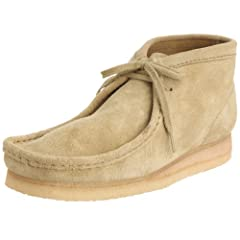 Clarks Wallabee Boot: Maple Suede