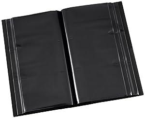 ナカバヤシ アルバム フォトグラフィリア L判 360枚 3段 ブラック PHL-1036-D