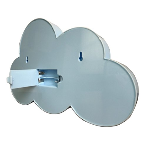 LED ベッドサイトランプ イルミネーションライト ホームイベント インテリア ギフト (ブルー雲)