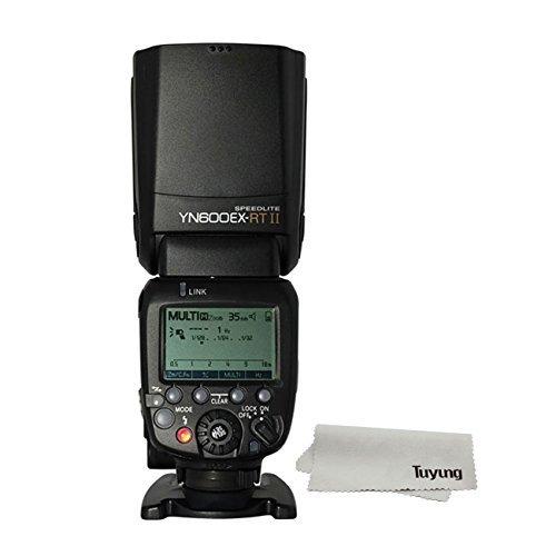 YONGNUO 製 YN 600EX-RT II Speedlite Radio Slave Flash Canon専用 ラッシュスピードライト TTL機能搭載ス...