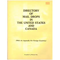 Directory of Mail Drops in the United States and Canada 1985