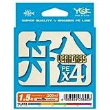 YGKよつあみ ヴェラガス船 X4 300m 3.0号 10mX5色 (ygk-038531)