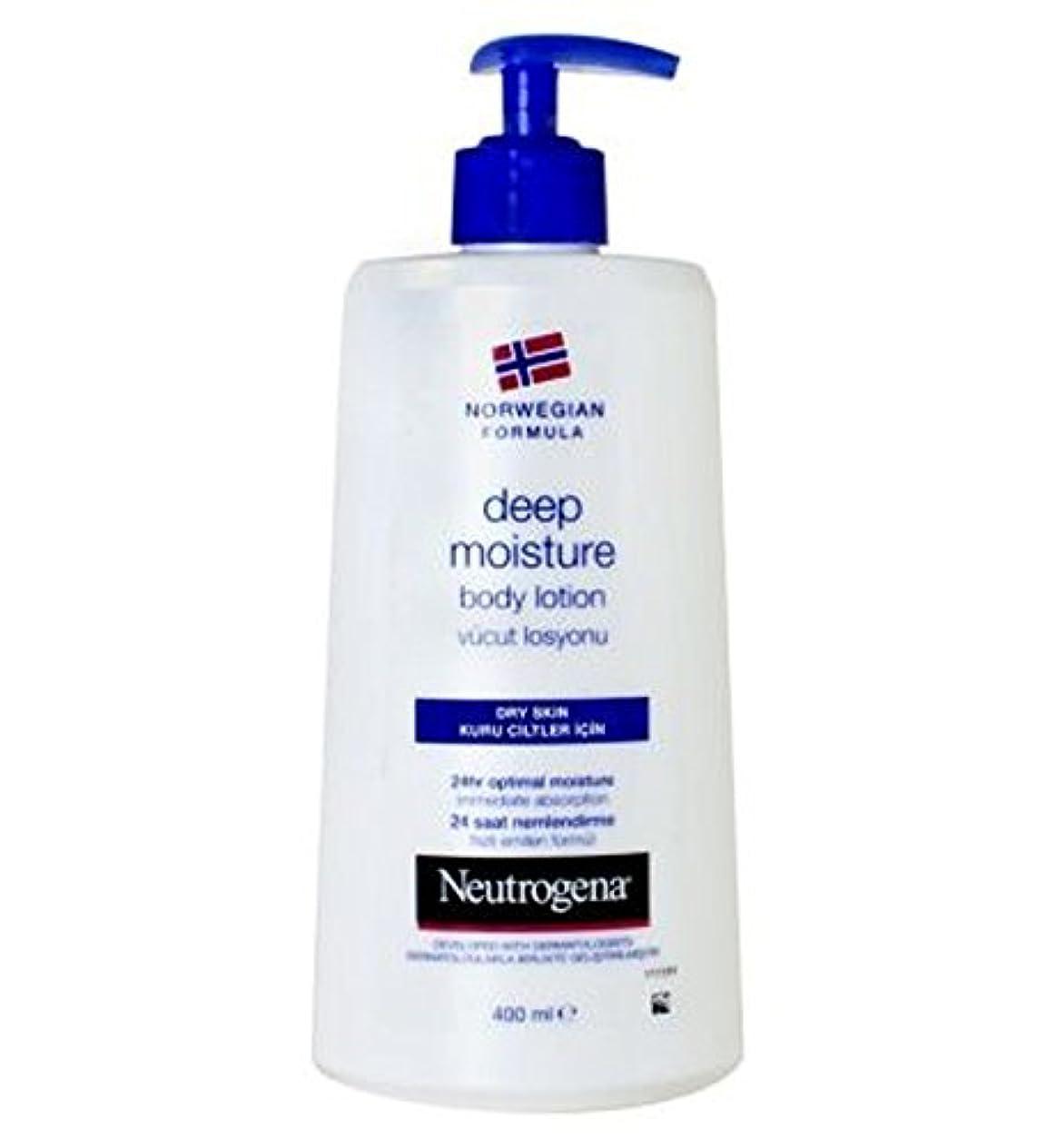 アンプ伝記背の高いNeutrogena Norwegian Formula Deep Moisture Body Lotion For Dry Skin 250ml - 乾燥肌の250ミリリットルのためのニュートロジーナノルウェー式の深い...