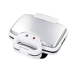 Vitantonio ワッフル&ホットサンドベーカー [ 焼き型2種付き / ホワイト ] VWH-200-W