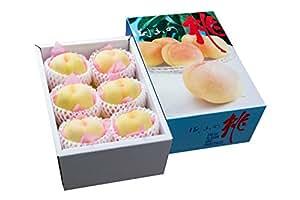 清水白桃(しみず白桃)2キロ6玉詰め【超大玉】プレミアムギフト