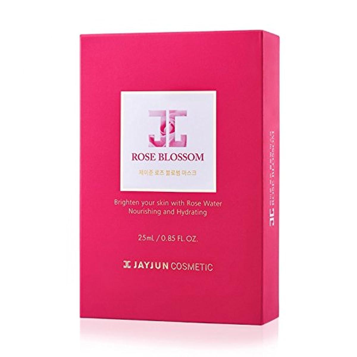 正直切り離す資本Jayjun Rose Blossom Masks 10 Sheets Moisturising Rejuvenating Face Skincare by JAYJUN