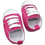 yinlang34 赤ちゃん靴 スニーカー キャンバス 男の子 女の子 ファーストシューズ 柔らかい 滑りにくい つま先保護 歩行練習 履き心地いい プレゼント ギフト -ダークブルー 13