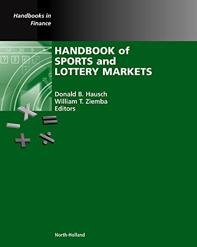 Download Handbook of Sports and Lottery Markets (Handbooks in Finance) 0444507442
