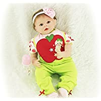 SanyDoll Rebornベビー人形ソフトSilicone 22インチ55 cm磁気Lovely Lifelike Cute Lovely Baby Cute Suit