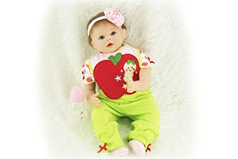 SanyDoll Rebornベビー人形ソフトSilicone 22インチ55 cm磁気Lovely Lifelike Cute Lovely Baby Cute Suit