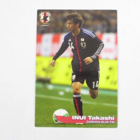2014カルビーサッカー日本代表■レギュラーカード■32/乾貴士