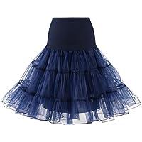 女の子のプリンセスドレス, レディースハイウエストプリーツショートスカートアダルトチュチュダンススカート by TODOYI (S, NY)