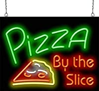 Pizza By The Slice Neon Sign