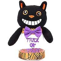 C-Princess ハロウィン キャンディ ボックス ケース ギフトバッグ お菓子入れ 小物入れ 可愛い 子供用 仮装 小道具 コスプレ コスチューム用小物 ブラック