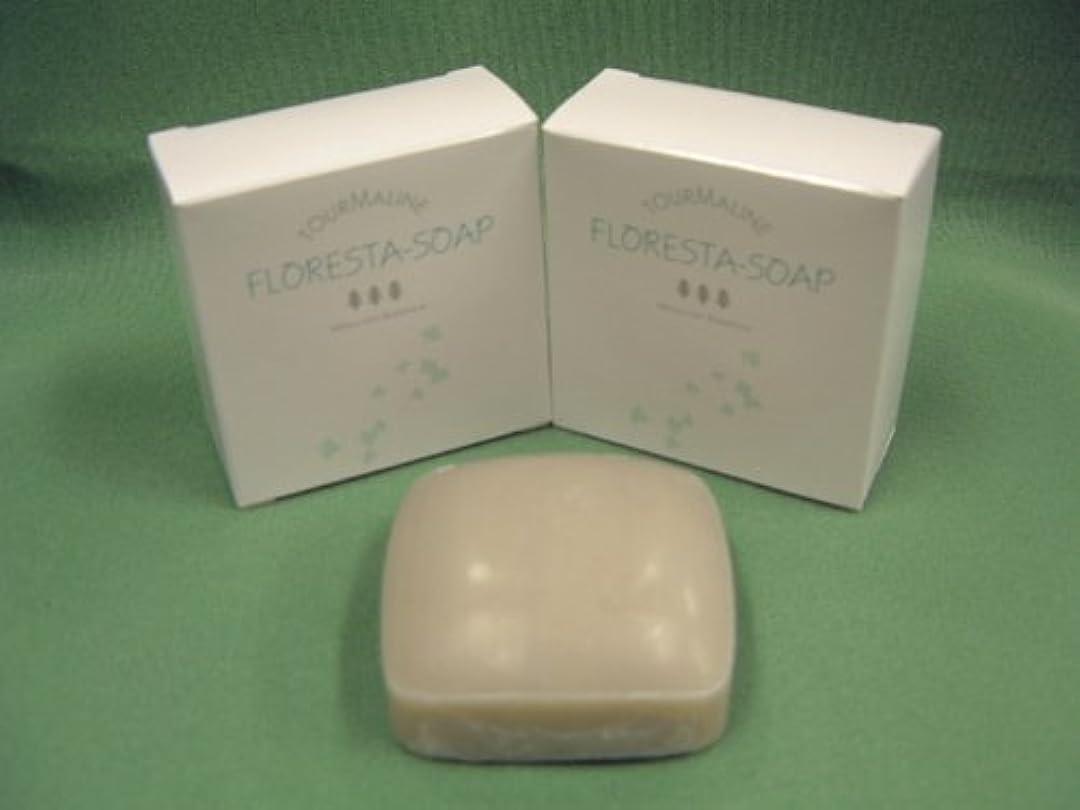 栄養ストレスの多い効果的「フロレスタソープ2ケ&浴用タオル3枚セット」スッキリ洗い上げてスベスベのお肌に