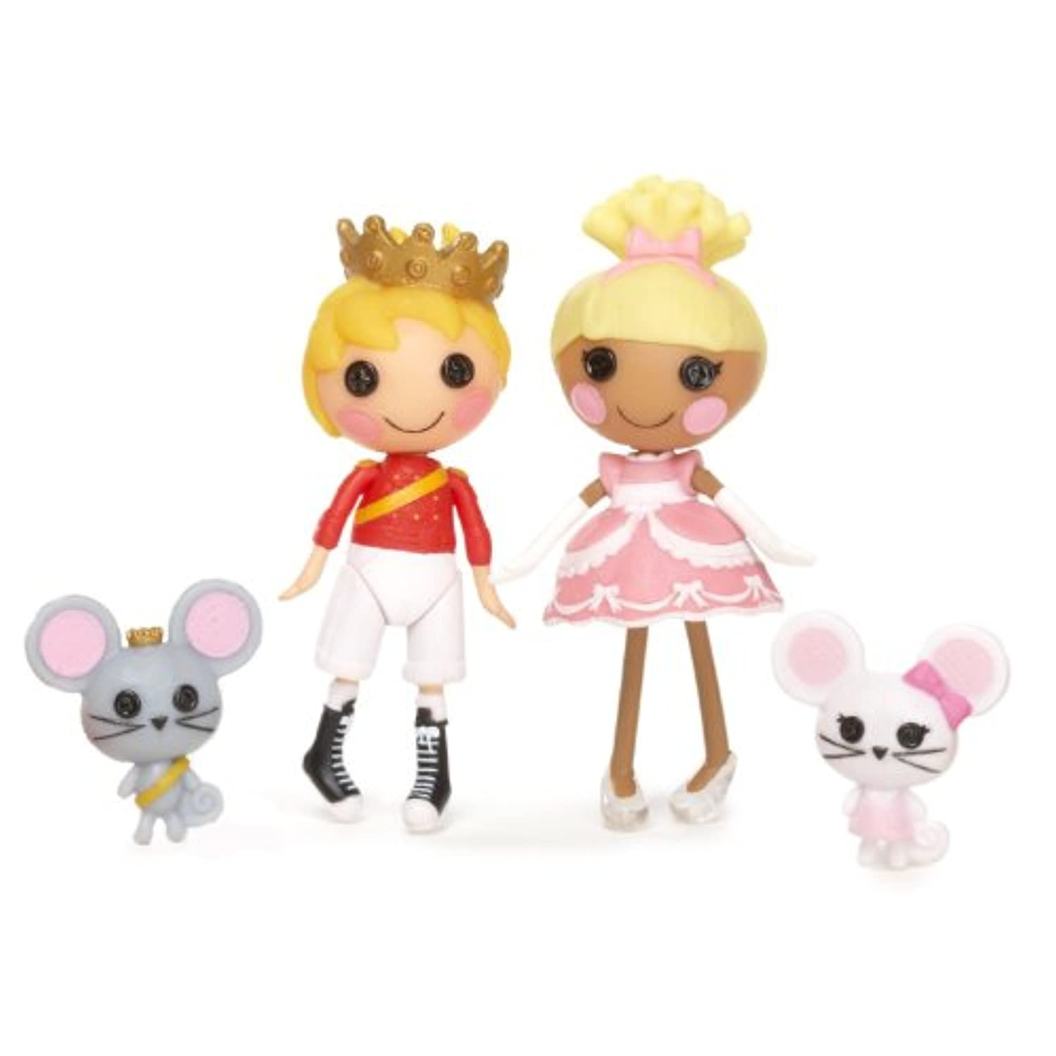 MINI LALALOOPSY DOLLS 2 PACK- Cinder Slippers and Prince Handsome -並行輸入品