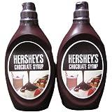 ハーシー HERSHEY'S チョコレートシロップ 623g×2本
