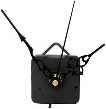 (1148) 時計 ムーブメント アラベスク ブラック 手作りキット 時計針 秒針 セット クロック 壁掛け