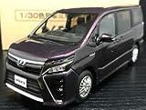 トヨタ 1/30 新型 ヴォクシー VOXY ハイブリッドZS HYBRID ZS オフィシャルミニカー カラーサンプル ボルドーマイカメタリック 3R9