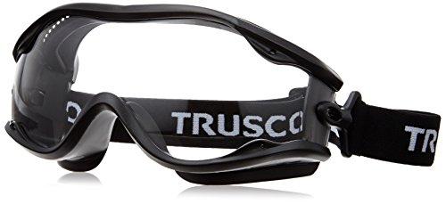 TRUSCO(トラスコ) セーフティゴーグル(ワイドビュータイプ )フレーム黒 TSG22BK
