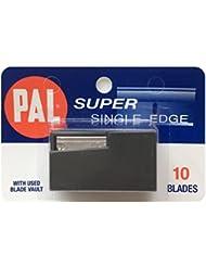 PAL SUPER (パル スーパー)シングルエッジ 片刃替刃 10枚入り [並行輸入品]