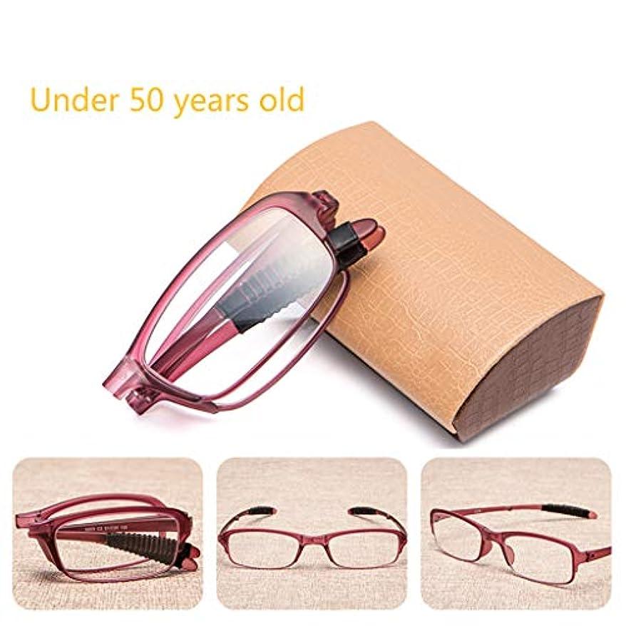 コンソール化合物同意するコンパクトな老眼鏡、樹脂レンズリーダー。 TR軽量素材、重量わずか14 g、滑り止め付きの脚、頑丈なヒンジ、ねじ山付きデザイン。 (黒/赤)