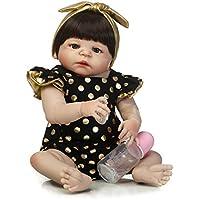 SanyDoll Rebornベビー人形ソフトSilicone 22インチ55 cm磁気Lovely Lifelike Cute Lovely Baby b0763llwr1