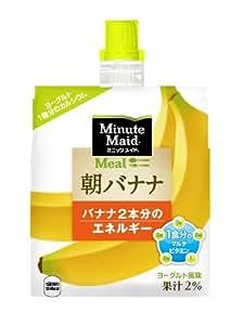 コカ・コーラ ミニッツメイド 朝バナナ ゼリー飲料 パウチ 180g×6個