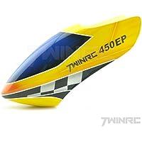 450Pro用 グラスファイバー製キャノピー T-REX HK VCTRC VWINRC TAROTなど450Proシリーズ用 (450EPロゴ)