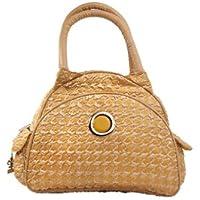 Kalencom Bellisima Herringbone Continental Flair Bag, Gold by Kalencom [並行輸入品]