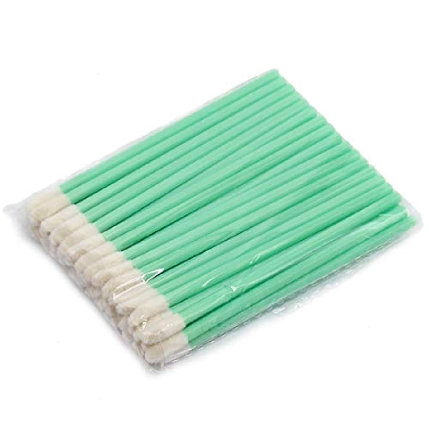 開発する失速憤るMakeup brushes メイクアップ使い捨てリップブラシ口紅グロススティックアプリケーターメイクツールファッションデザイン-グリーン suits (Color : Green)