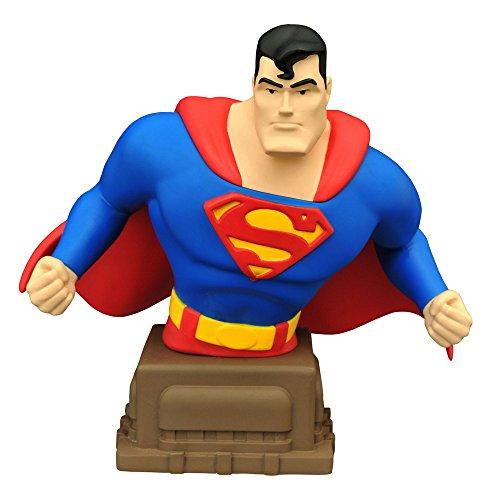 【DC ミニバスト】『スーパーマン アニメイテッド』スーパーマン 高さ約15センチ レジン製 塗装済みミニバスト