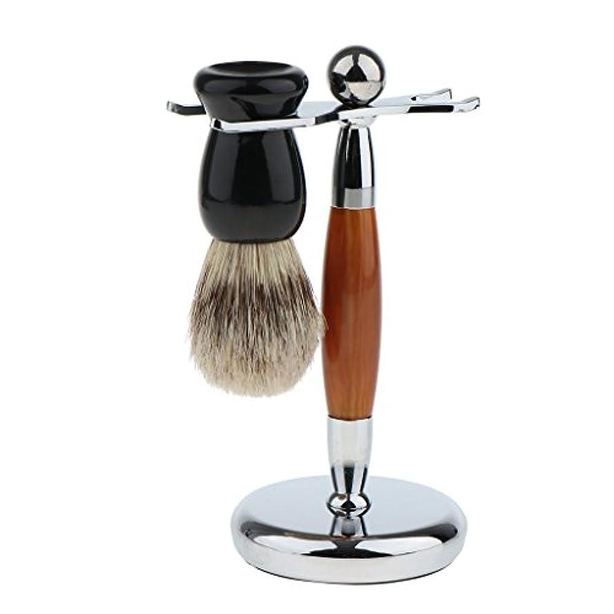 ペン言及するビンシェービング スタンド ブラシ 男性 メンズ ステンレス カミソリ ホルダー ラック 高品質 プレゼント 快適