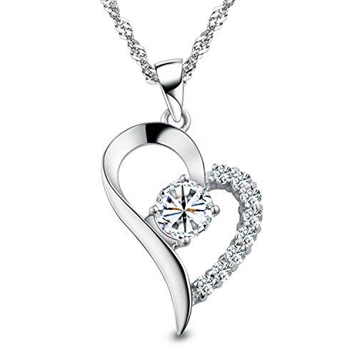 Fairy Heart オープンハート ネックレス チェーン2種類 レディースネックレス豪華ギフトセット 永遠の愛を送ります(オープンハート)