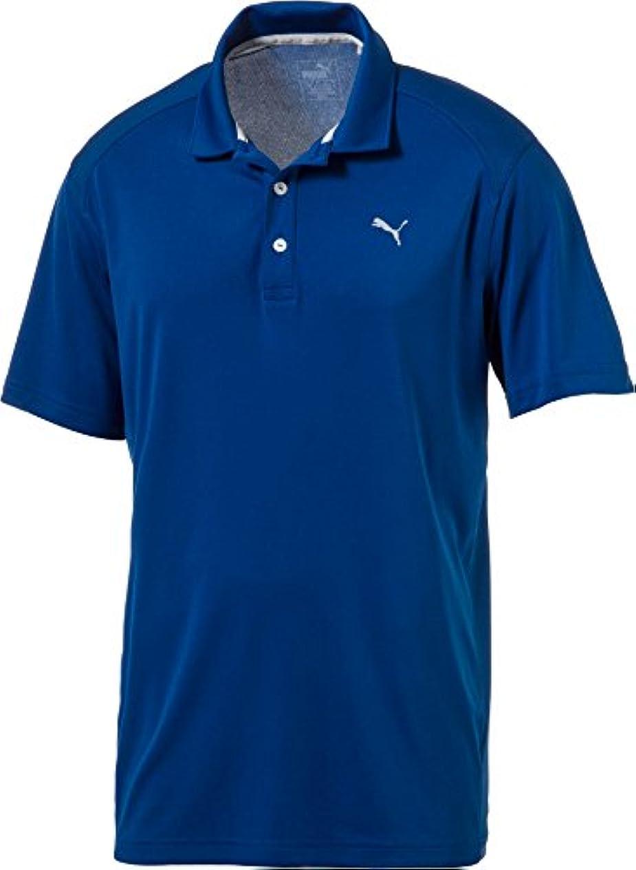 太鼓腹依存する他の場所プーマ トップス シャツ PUMA Men's Pounce Golf Polo TrueBlue [並行輸入品]