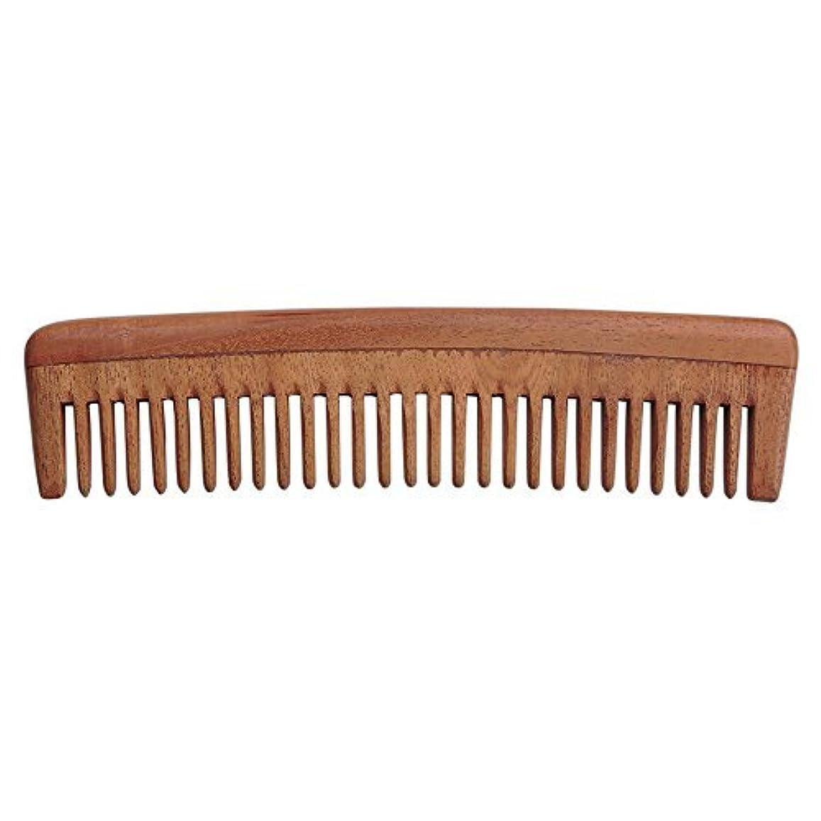 小包嫌がらせ今までHealthGoodsIn - Pure Neem Wood Wide Tooth Comb for Shiny Hair   Wide Tooth Comb   Natural and Organic for Hair...