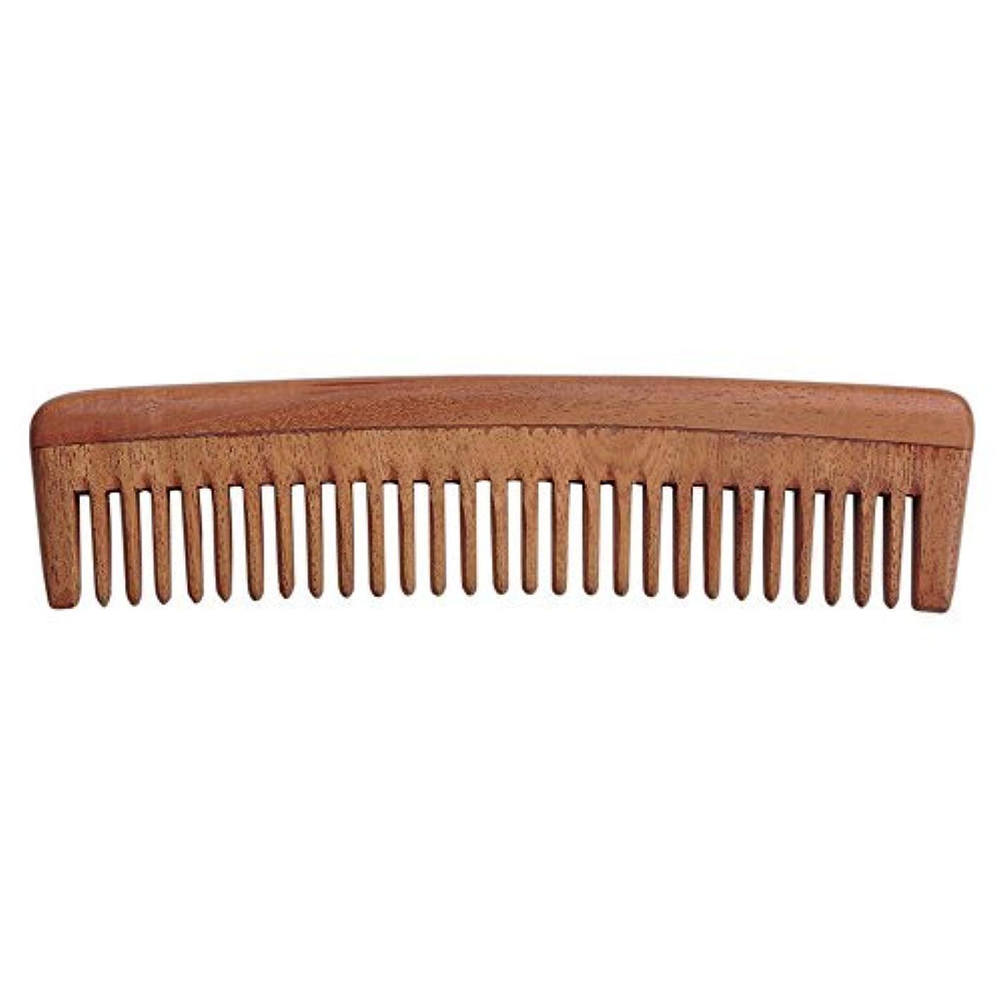 リブ国歌ローストHealthGoodsIn - Pure Neem Wood Wide Tooth Comb for Shiny Hair | Wide Tooth Comb | Natural and Organic for Hair...