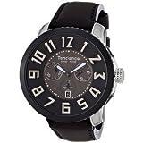 腕時計 Tendence Swiss Made Chronograph Steel Leather Brown Men's Watch TE470005【並行輸入品】
