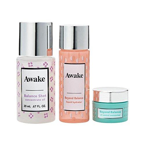 アウェイク(AWAKE) Awake(アウェイク) スキンアウェイキング バランスショット コンセントレイトオイル キット 〈美容オイル・化粧水・クリーム〉 (1セット)