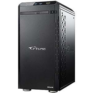 mouse ゲーミング デスクトップパソコン G-Tune NM-F7081SHG6ZF/Corei7 8700/1060/8GB/240GB/1TB/Win10