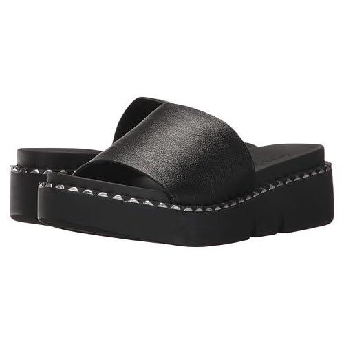 (チャイニーズランドリー)Chinese Laundry レディースサンダル・靴 Promise Black Tumbled Leather 9.5 26.5cm M [並行輸入品]