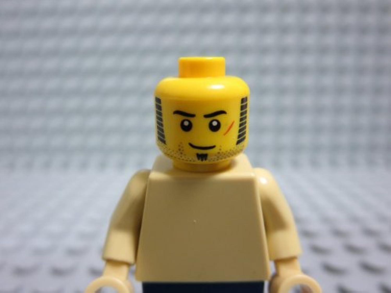 レゴ ミニフィグ 【ヘッド】 bpb497