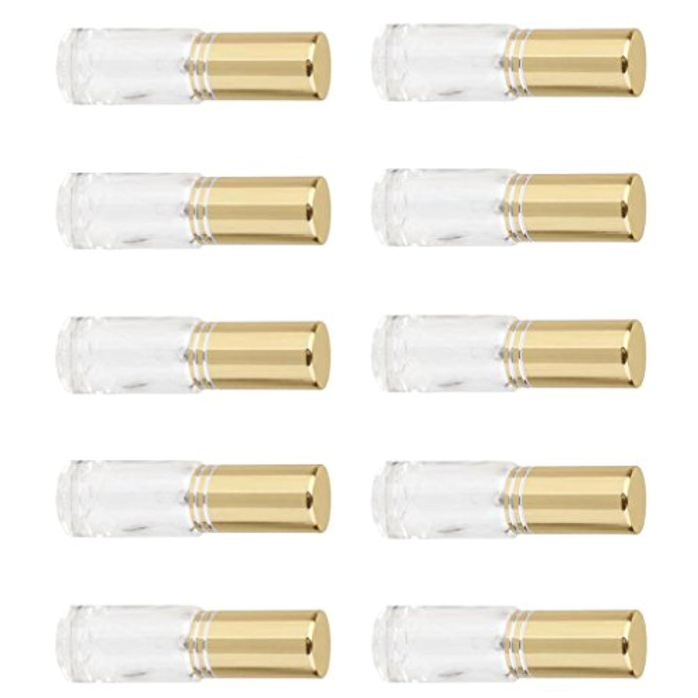 絶望コンサート端SONONIA 10個 お買い得 男女兼用 5ml ミニ ガラス 詰め替え可能 香水 空き瓶 アトマイザー ポンプ スプレー 香水瓶 容器