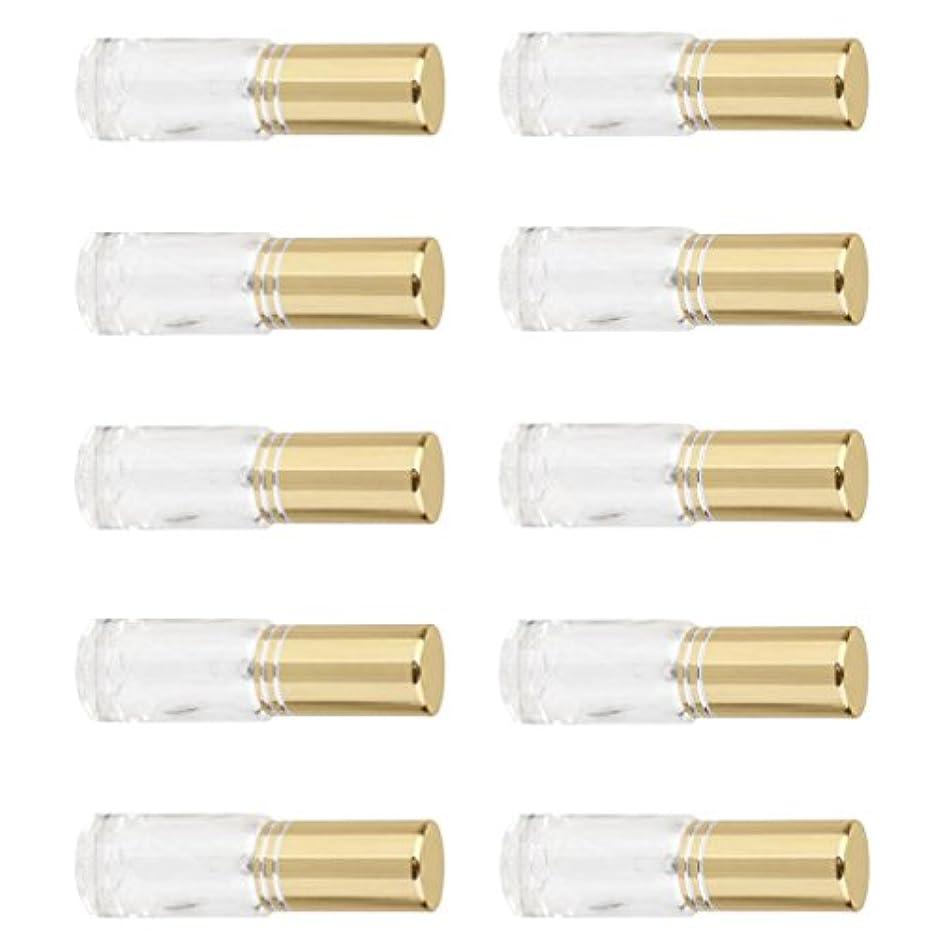 永続支配的セラーSONONIA 10個 お買い得 男女兼用 5ml ミニ ガラス 詰め替え可能 香水 空き瓶 アトマイザー ポンプ スプレー 香水瓶 容器