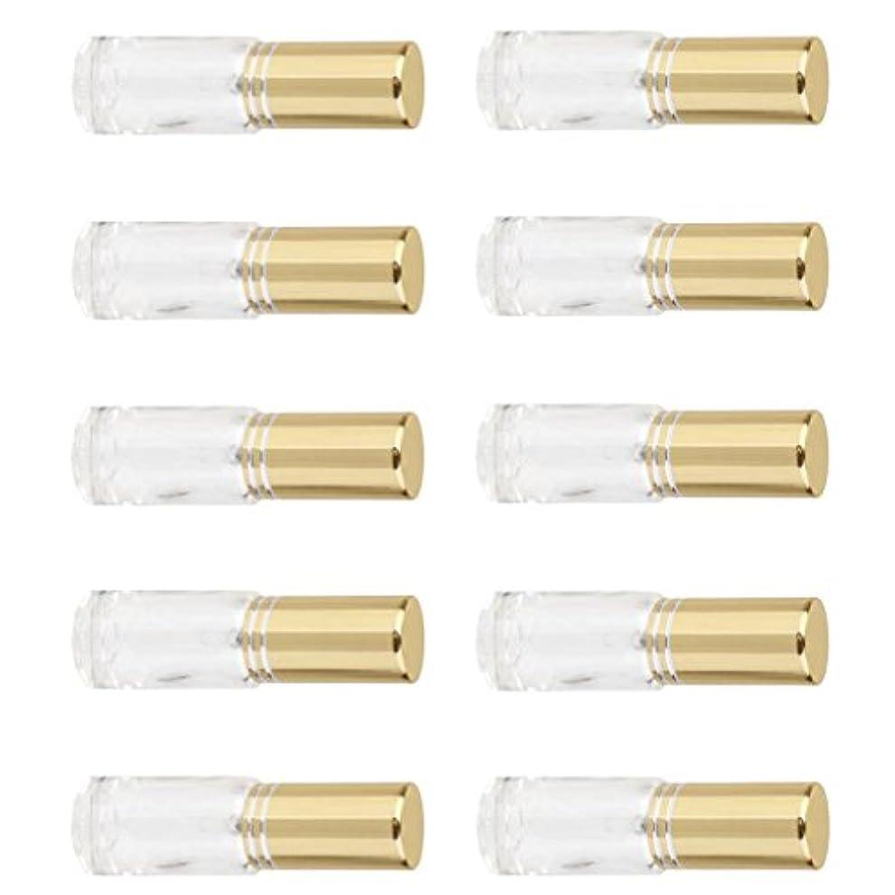 責め満員用心SONONIA 10個 お買い得 男女兼用 5ml ミニ ガラス 詰め替え可能 香水 空き瓶 アトマイザー ポンプ スプレー 香水瓶 容器